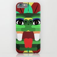 iPhone & iPod Case featuring Quetzalcoatl by Daniel Delgado