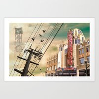 From Oakland, With Love Art Print