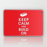 Keep Calm And Build On Laptop & iPad Skin