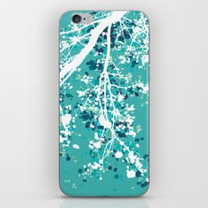 Carefree Days (mint edition) iPhone & iPod Skin