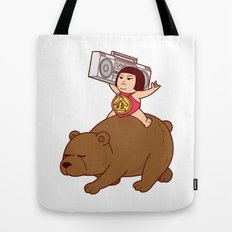 Boombox Kintaro -remake version- Tote Bag
