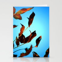 Wake Up Leaves Stationery Cards