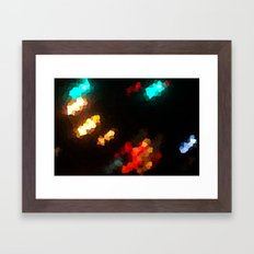 Glass Resolution Framed Art Print