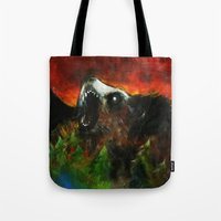 Between the Mountains Tote Bag