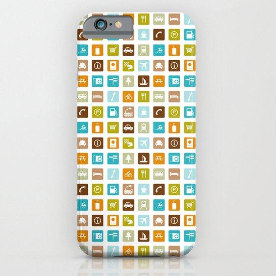Travel Icons iPhone & iPod Case