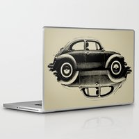 vw Laptop & iPad Skins featuring VW Ying and Yang by vin zzep