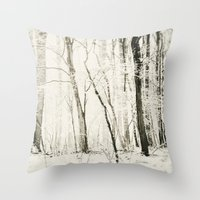Hundred Acre Woods Throw Pillow