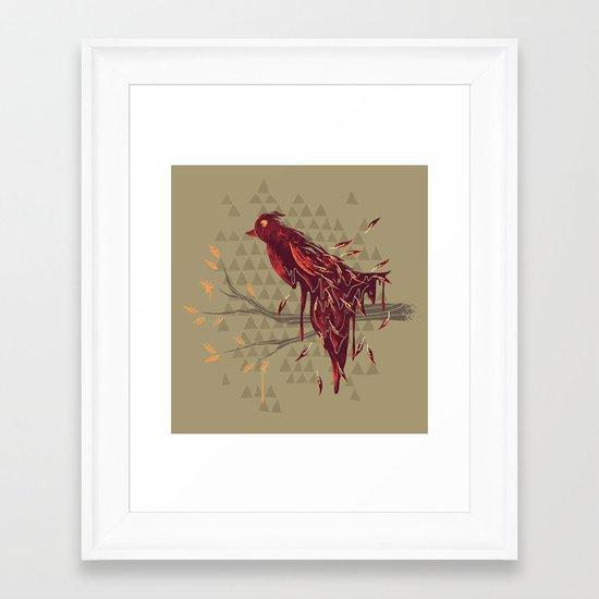 Fading Beauty Framed Art Print