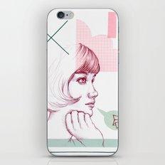 Classroom Girl iPhone & iPod Skin