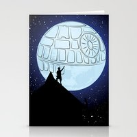 That's No Moon! Stationery Cards