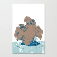 Surtseyan Volcanic Erupt… Canvas Print