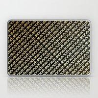M-Slants Laptop & iPad Skin