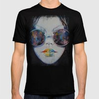Asia Mens Fitted Tee Black SMALL
