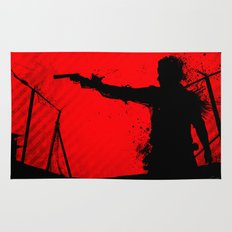 The Walking Dead Rick Rug