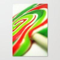 Retro Lolly. Canvas Print