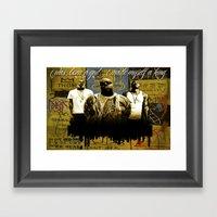 3 Kings Framed Art Print