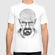 Walter White SMALL Mens Fitted Tee White