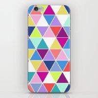 Multi Colour Triangle; iPhone & iPod Skin