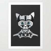 Space Cat  Art Print