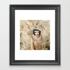 Whimsy my friend. Framed Art Print
