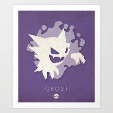 POKÉMON Ghost Art Print