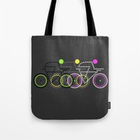 Olympic Posters - Cycle  Tote Bag