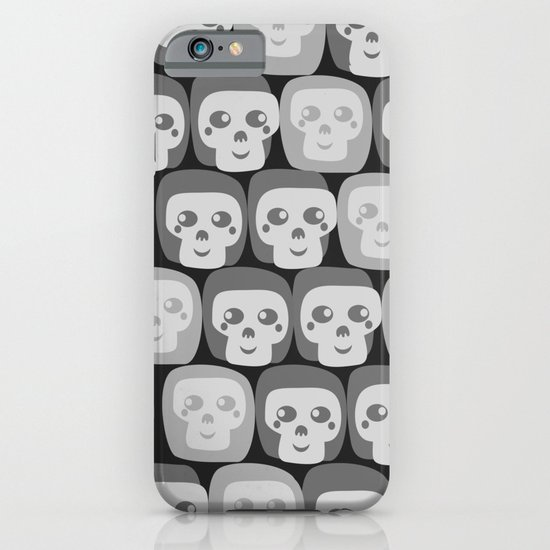 Boo - Skulls Pattern iPhone & iPod Case