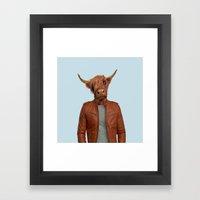 Mr. Miles Framed Art Print