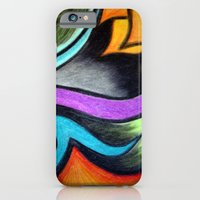 Oil Pastels and Conte Crayon iPhone 6 Slim Case