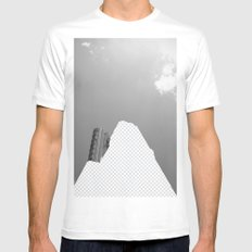 Vacant Architecture White SMALL Mens Fitted Tee