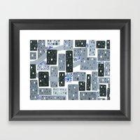 Occupy Movement Granules… Framed Art Print