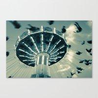 The Wave Swinger Canvas Print