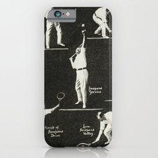 gentlemen prefer tennis iPhone 6 Slim Case