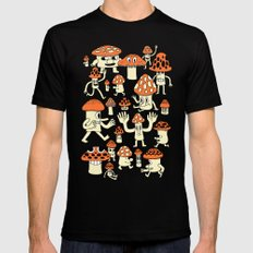 Fun Guys Mens Fitted Tee Black SMALL