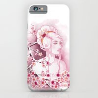 iPhone & iPod Case featuring Snow Cherry by Lila Cattis