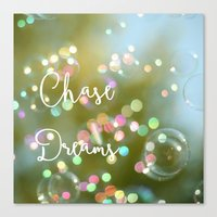 Chase Dreams Canvas Print