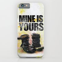 iPhone & iPod Case featuring Boots in the Hall by Mine is Yours