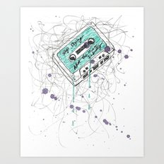 Stop Crying About The Music Industry Art Print