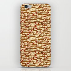 TONS OF SEAMLESS PIZZA iPhone & iPod Skin