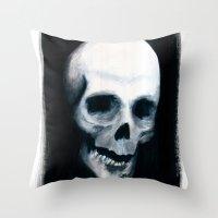 Bones XV Throw Pillow