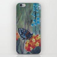 Posies Friend-Butterfly Love iPhone & iPod Skin