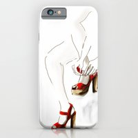 Red Shoes iPhone 6 Slim Case