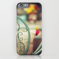 iPhone & iPod Case featuring The chair and the pillow by Nina's clicks