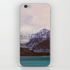 Escape X Alaska iPhone & iPod Skin