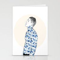 Inked #3 Stationery Cards