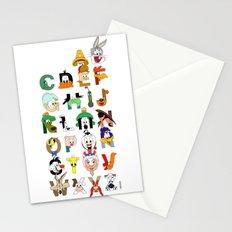 That's Alphabet Folks Stationery Cards
