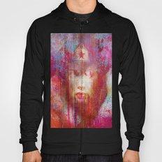wonder abstract woman Hoody