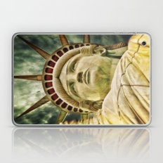 Statue of Liberty 4 Laptop & iPad Skin