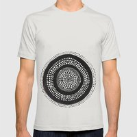 Dotto 27 Mens Fitted Tee Silver SMALL