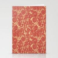 Floral Loop Stationery Cards